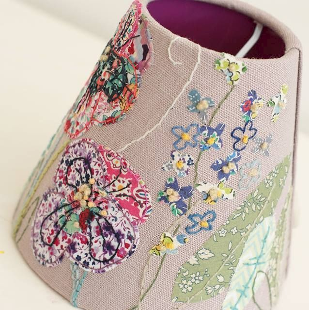 Hand Embroidered Lampshade Workshop with Marna Lunt - product images  of