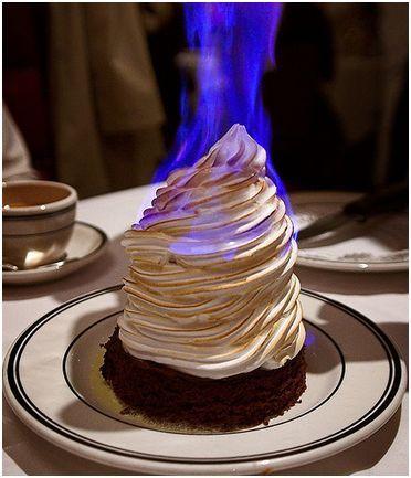 Recipe: Flambe Showstopper Baked Alaska