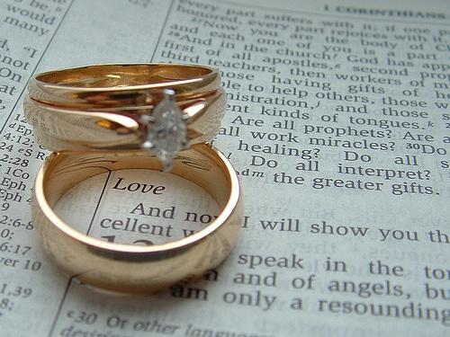 Wedding Rings On Bible Scripture Wedding Ideas In 2018 Marriage