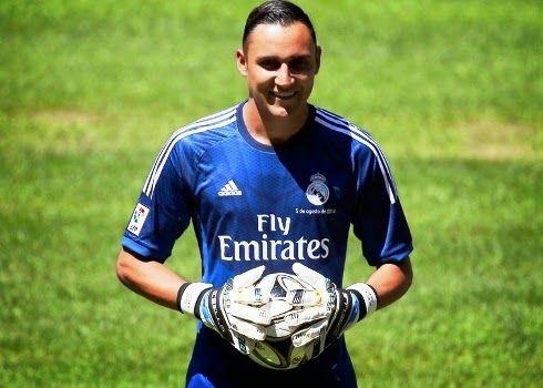 Blog Esportivo do Suíço: Goleiro Navas é apresentado pelo Real Madrid