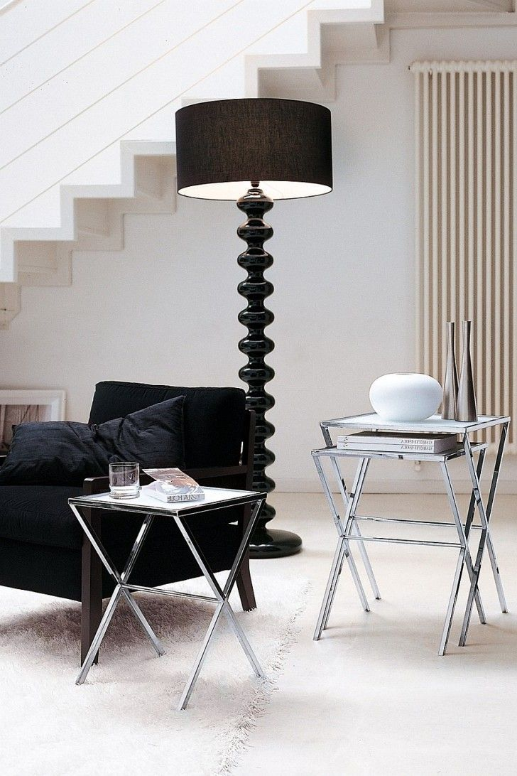 Black Floor Lamps Contemporary