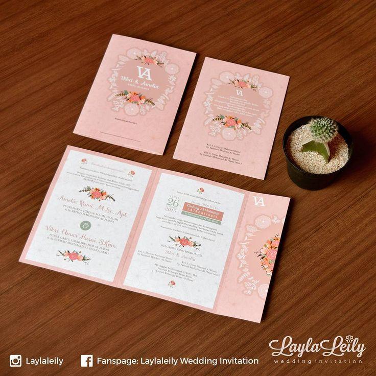 Type: SOVIASE Undangan Pernikahan Softcover Doff Size: 14x20 cm (folded), 34x20…