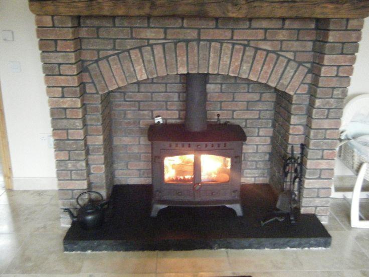 Wood Stove Fire Bricks 4 9 : Best les poeles images on pinterest log burner wood