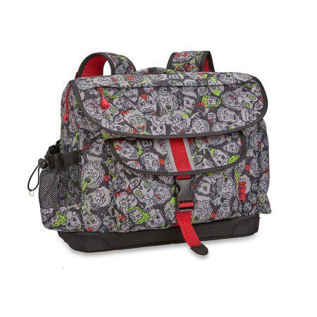 Bixbee Zombie Camo Backpack, Medium, Black