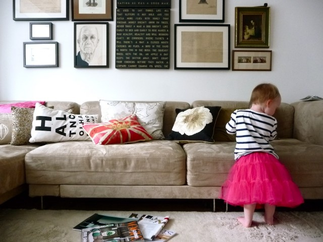 Gallery Wall Above Sofa Living Room Pinterest