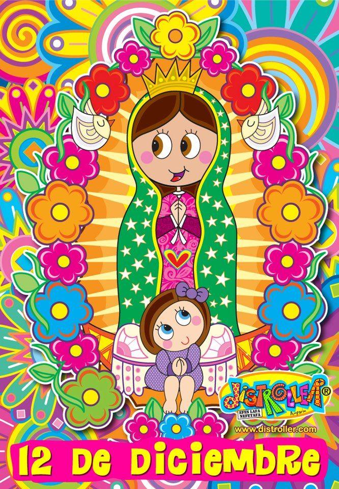 270039 10151353368454458 1694067153 N Jpg 666 960 Virgencita De Guadalupe Caricatura Virgen De Guadalupe Animada Virgen Caricatura
