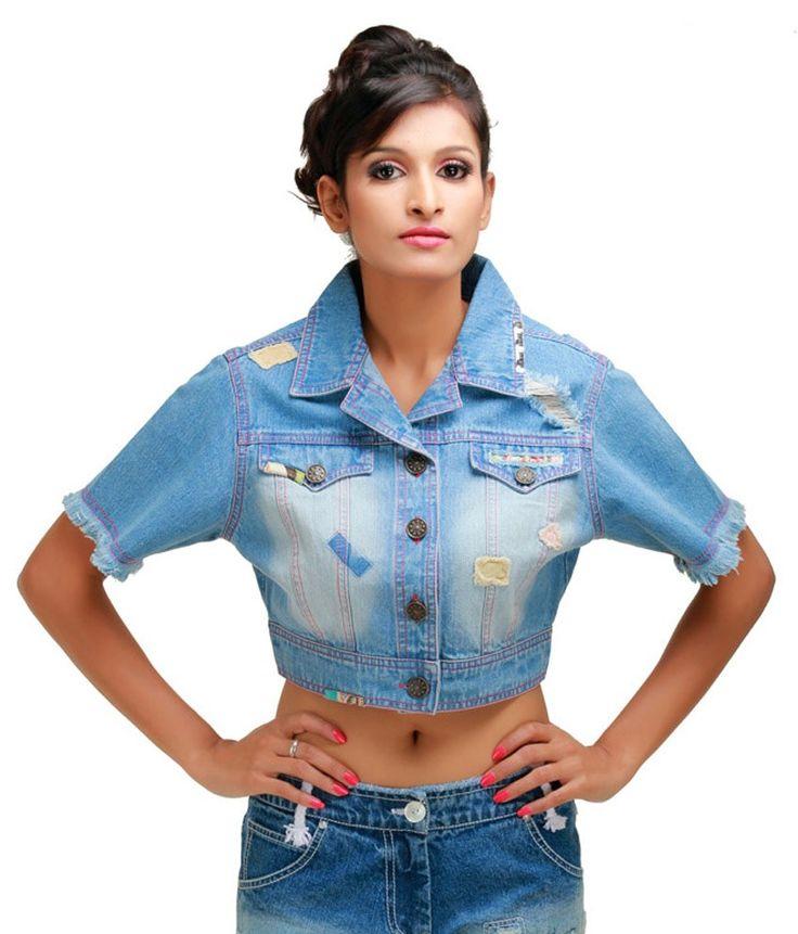 Its Hot Blue Denim Denim Jackets