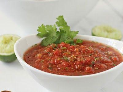 Restaurant Style Salsa (aka the BEST homemade salsa EVER)