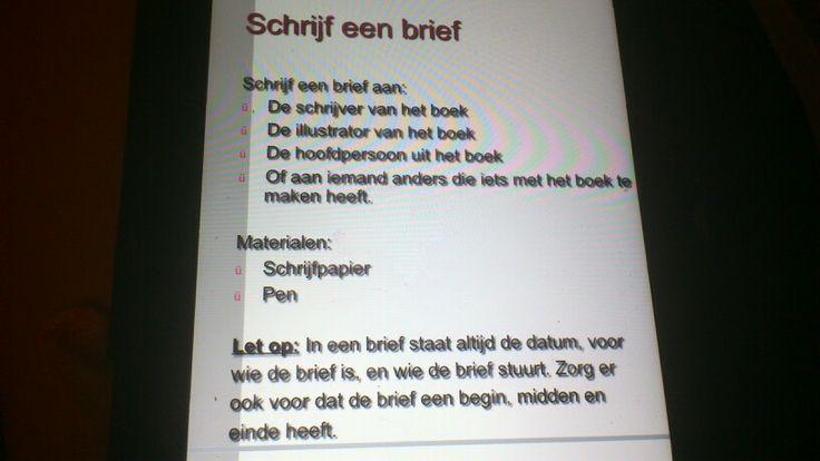 Leesbevordering. Meer ideeën te vinden op www.123lesidee.nl.