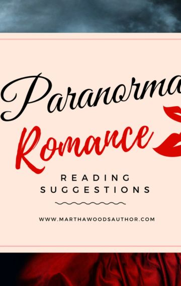 Weekly Paranormal Romance Reading Suggestions | 03/10/2017