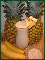 Banaan Ananas Colada Smoothie