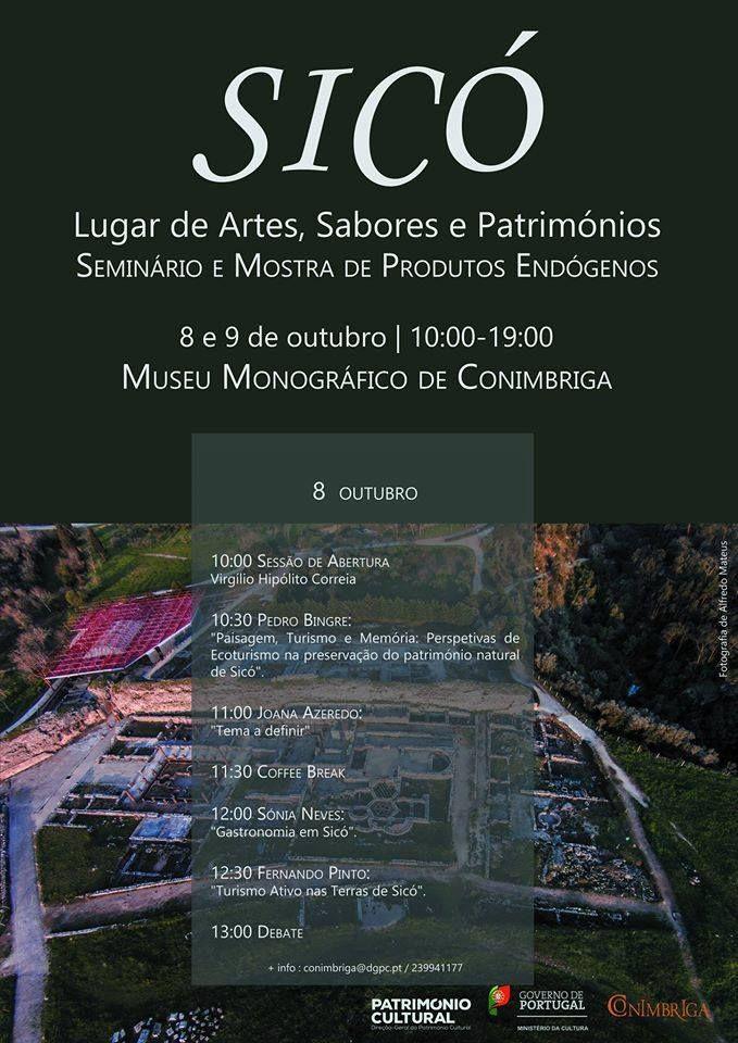 Para se inscreverem no Seminário: conimbriga@dgpc.pt / 239941177