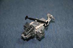 T-51 'Tempest' Attack Chopper (Multihawk) Tags: scale chopper lego military mini helicopter micro future tempest nano warfare microscale microspacetopia
