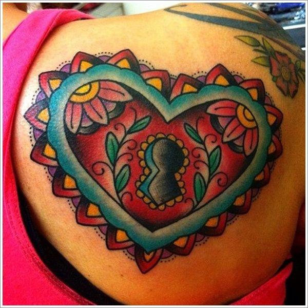 25 Heart Locket Tattoo Designs Ideas: 25+ Best Ideas About Heart Tattoo Designs On Pinterest
