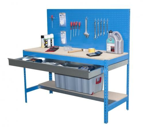 ETABLI Atelier avec panneau porte outils et tiroir