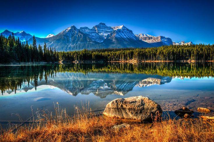 Un lac Canadien