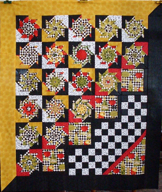 Robusto by Linda Rotz Miller Quilts  Quilt Tops, via Flickr