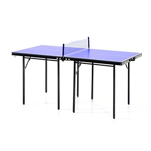 Aosom 5' Folding Indoor/Outdoor Table Tennis Table -- You can find more details by visiting the image link.