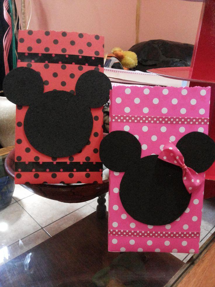 Bolsitas de Cumpleaños de Minnie