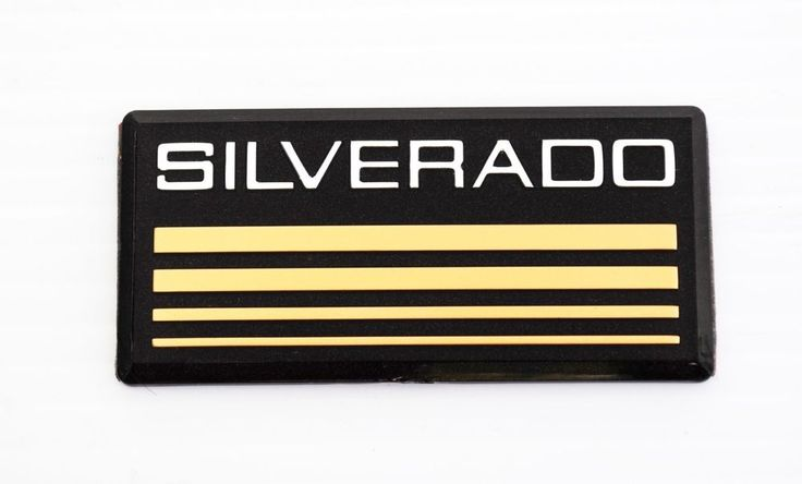 New Chevy Silverado 1500 2500 3500 emblem badge pillar 1988, 89 ,90,91,92,93,94