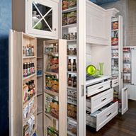 Organized storage!! A New Houzz Survey Reveals What You Really Want in Your Kitchen