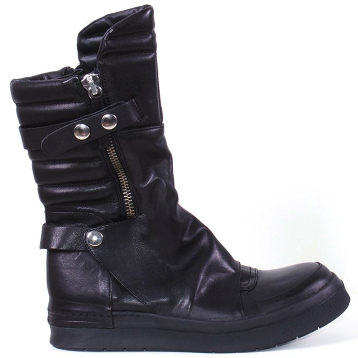 LESTER'S LATEST LIKE CA by Cinzia Araia Skin Biker Sneaker Whenever you're  rough and