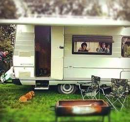Classic Hymer Camper Hire from Hymer Love East Sussex