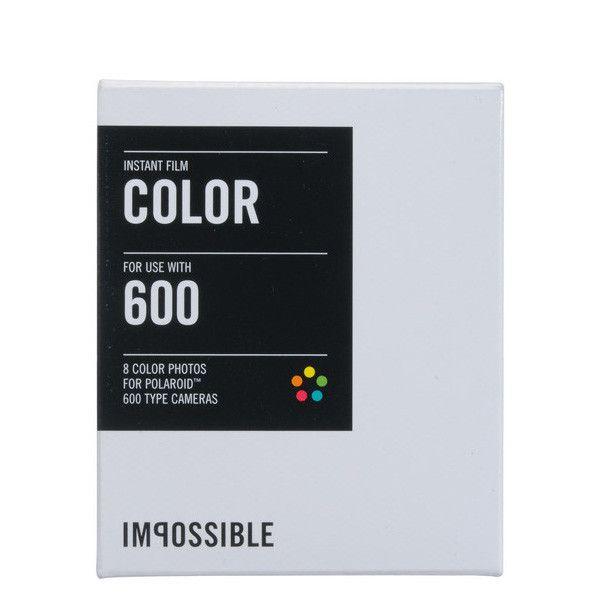 Instant Color Polaroid Film - 600 Type Camera | ShopPigment