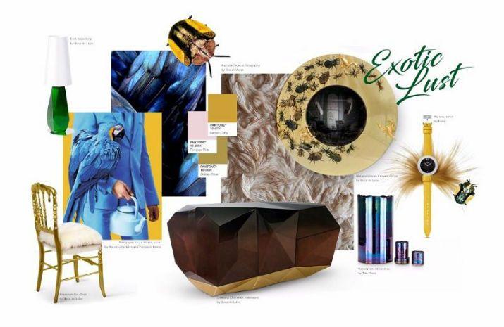 LES TENDANCES D'AUTOMNE 2017 INSPIRÉS PAR PANTONE >> Covet Edition est heureux d'annoncer que l'institut des couleurs Pantone a publié les tendances d'automne 2017. Pantone, Couleurs d'automne, Décoration d'intérieur