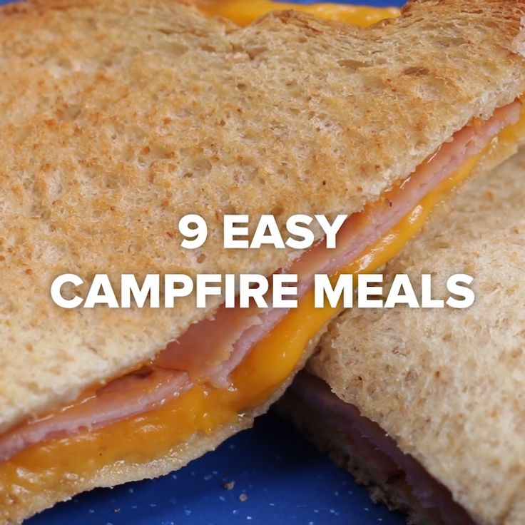 9 Easy Campfire Treats | most desserts