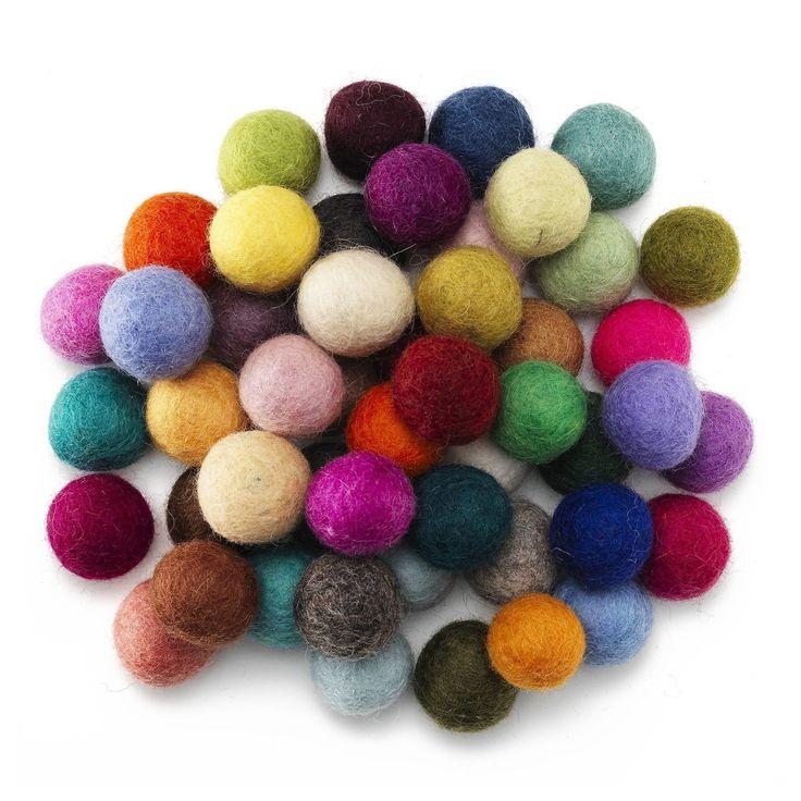 Nepal Wool kulor Ø20mm 50p
