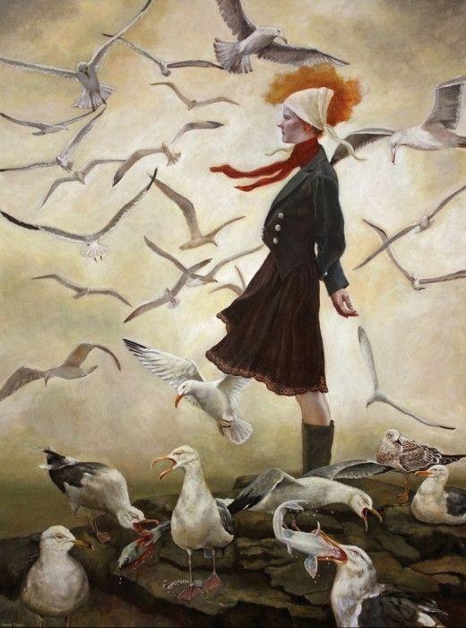 Живопись американской художницы Андреа Коуч (Andrea Kowch ...