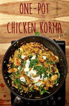 One-Pot Chicken Korma