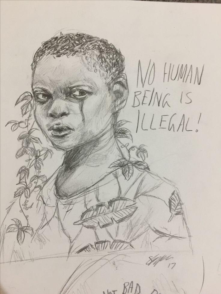 Quick sketch at school