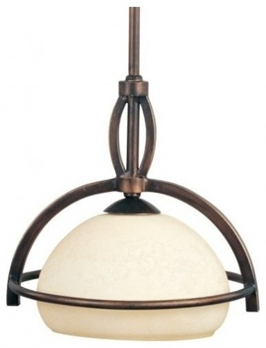 Cupola Pendant	 - $97.20 [lumens.com ]  The Maxim Lighting Cupola Pendant creates bright downlighting and adds visual warmth and beauty to interior decor. The Cupola Pendant features a Frost Lichen glass shade and an Oil Rubbed Bronze finish.    Maxim Lighting, headquartered in California, offers high-quality lighting fixtures in a variety of designs, finishes, and glass styles that complement contemporary and transitional interiors.    The Maxim Lighting Cupola Pendant is available with the…