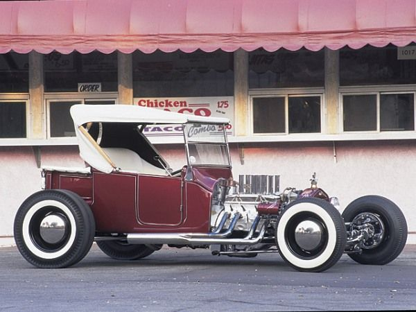 Tommy Ivo's T'Bucket Hot Rod went on to be as big a star, if not a bigger, than the actor/racer himself