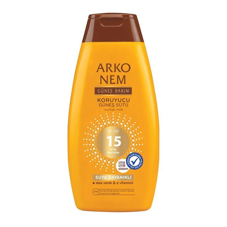 Arko Nem Koruyucu Güneş Sütü SPF 15 200 ml ::