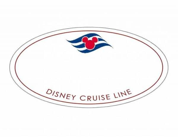 Disney Castmember Name Tag Template...for a Bon-voyage party or for impersonating a crew member as a stowaway ;-)!