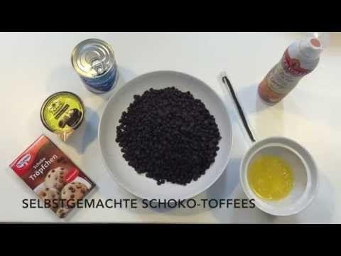Schoko-Toffee in 10 Minuten selbst machen