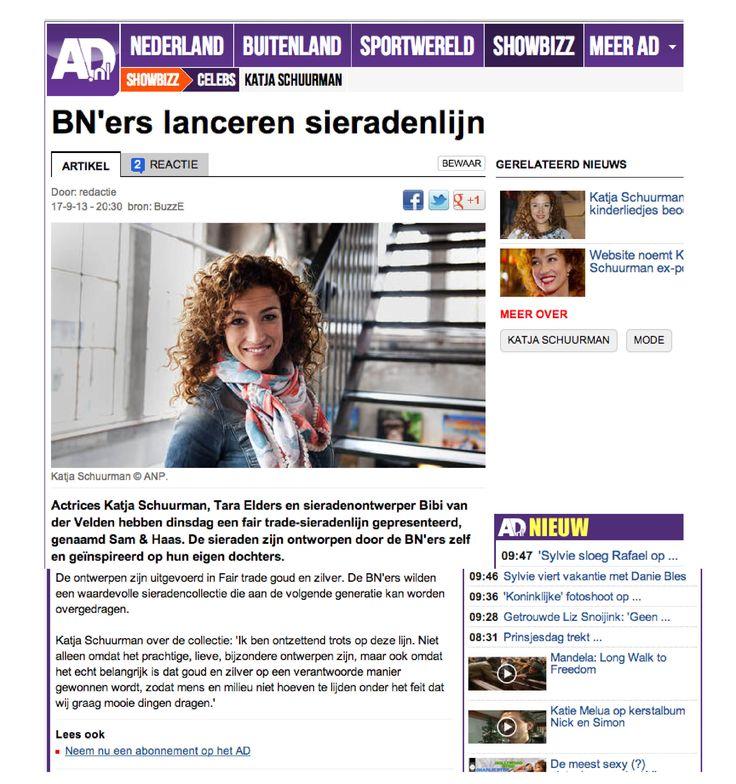 AD.nl 17 September 2013 - Sam&Haas