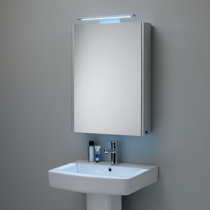 Picture Gallery For Website Shallow Illuminated Bathroom Cabinet