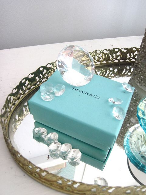 the box that inspired me to redo our bedroom i love the colour and i tiffany blue