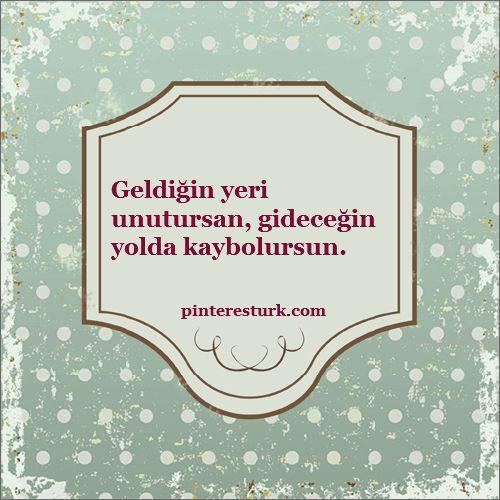 En Güzel Nasihat Sözleri | PinteresTürk