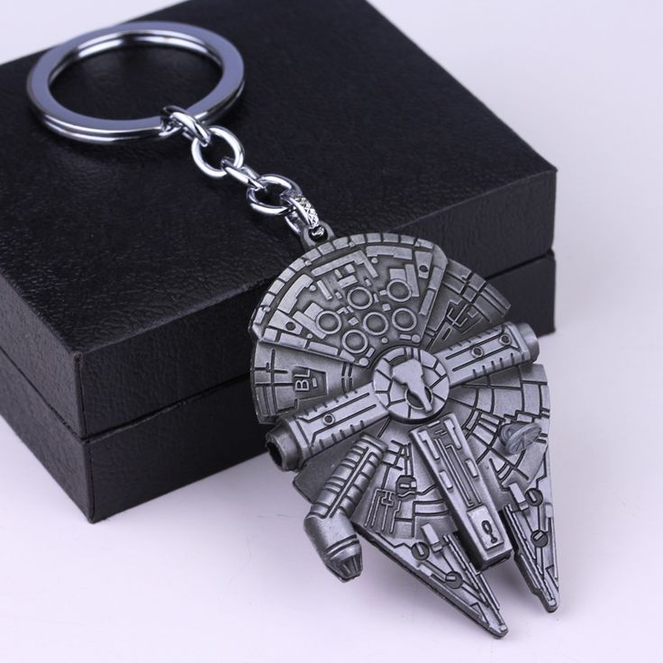 Hot Movie Fashion Alloy Key Chain Jewelry Star Wars Series 2 Spacecraft Warship Keychain Pendant For Unisex Wholesale