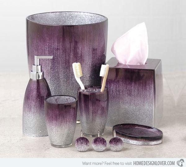 15 Elegant Purple Bathroom Accessories Purple Bathroom Accessories Purple Bathroom Decor Purple Bathrooms