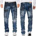 Cipo & Baxx Herren Regular Slim Fit Jeans Hosen Streetwear Freizeit Denim Cargo | eBay