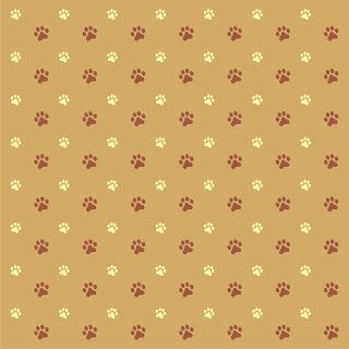 Free Paw Print Background Paper