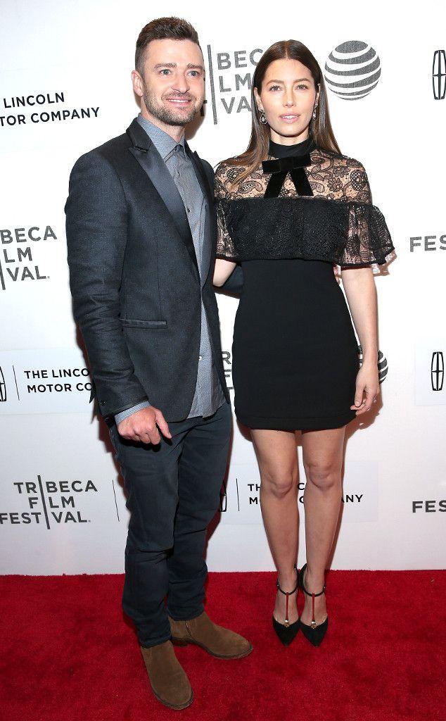 Jessica Biel Jokes Her Son ''Looks Like a Drunken Mini Human Being''  Justin Timerlake, Jessica Biel, Tribeca Film Festival