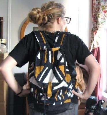 DIY Project: Homemade Backpack