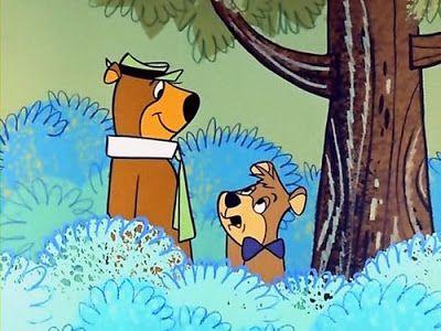 Ordo Yoghi (1958) , Bubu e il ranger Smith nel parco di Jellystone